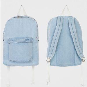 American Apparel Denim Backpack